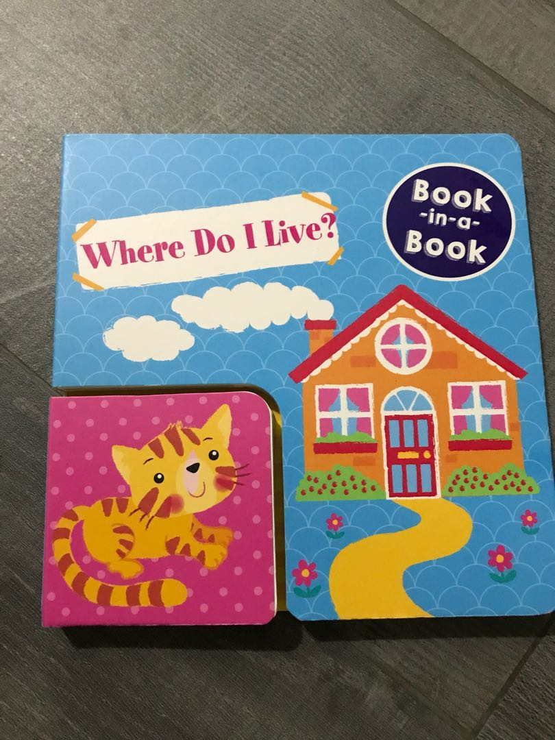 Book In A Book Where Do I Live Books Stationery Children S Books On Carousell 3 i asked paul what they had built. book in a book where do i live