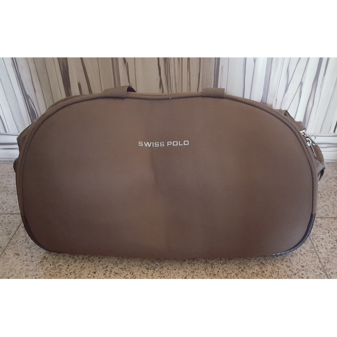 55d7d857bb Brown Cabin Bag by Swiss Polo - 20