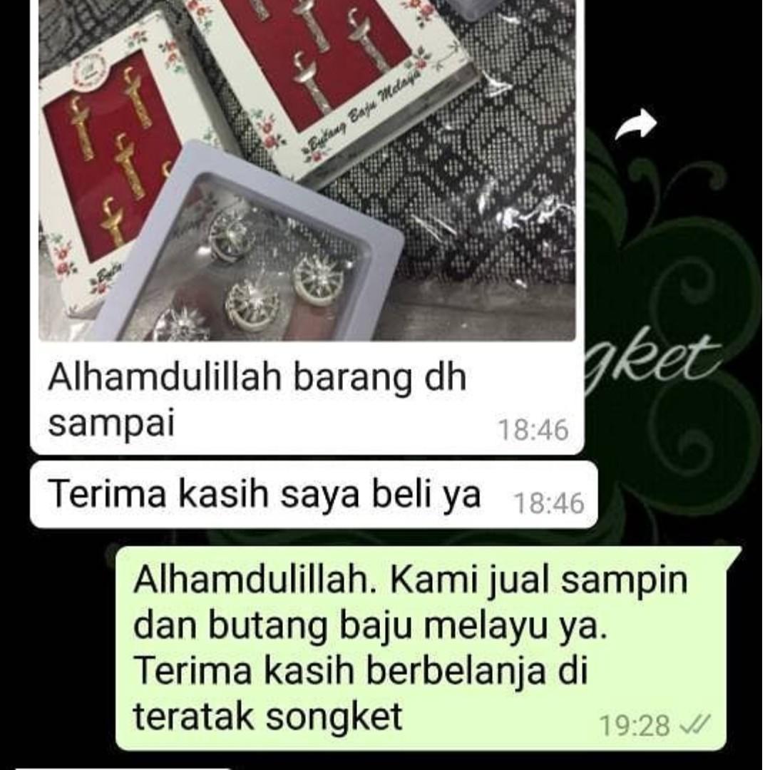 Butang Baju Melayu Bulan Bintang f0bd851101