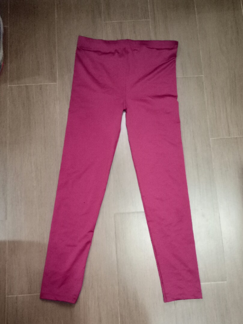 Tisgratis Celana Legging Bahan Spandex Fesyen Wanita Pakaian Wanita Bawahan Di Carousell