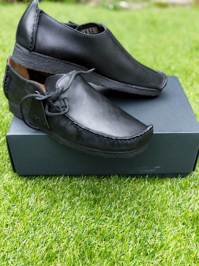 Clarks Originals Lugger Black leather