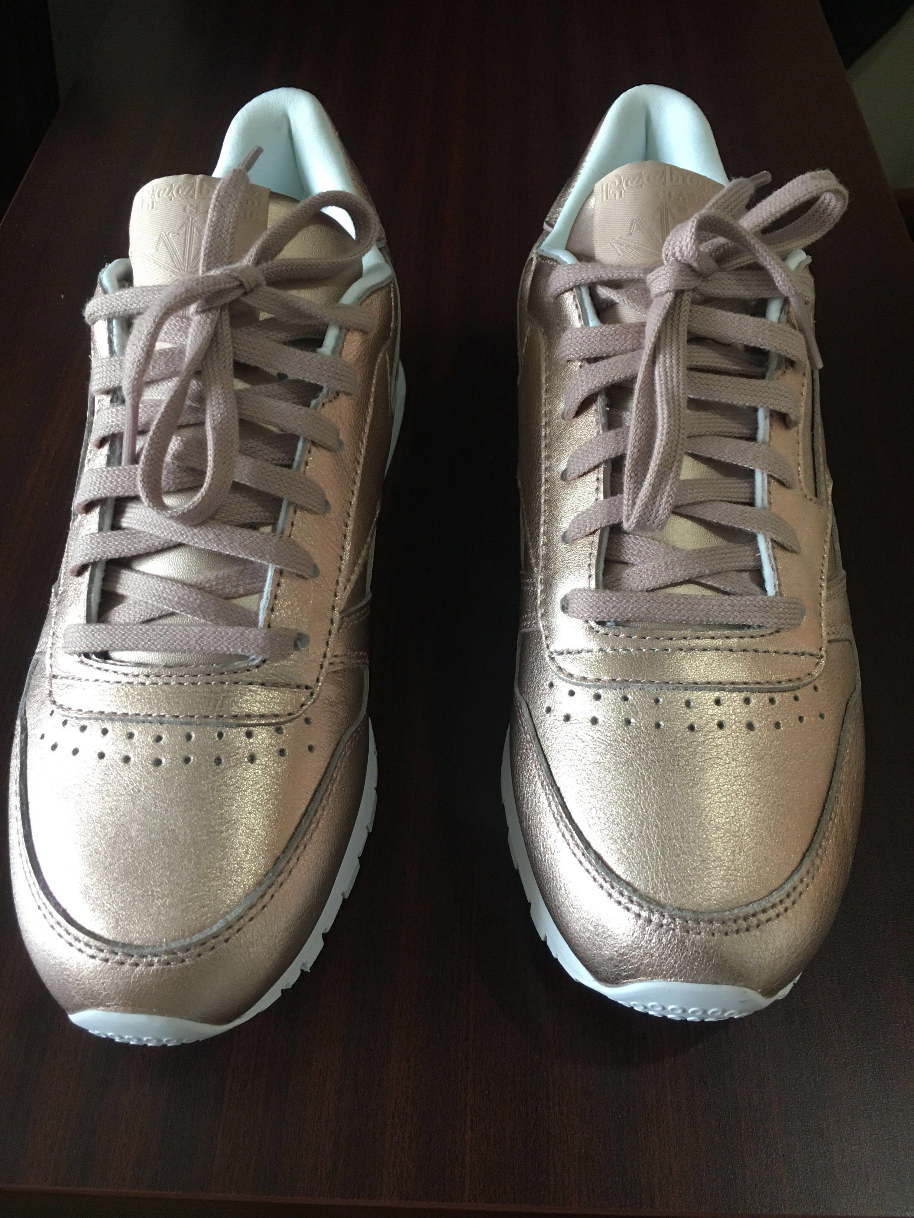 577de3a766b8a CUT DOWN  BN Reebok Classic Leather Melted Metal