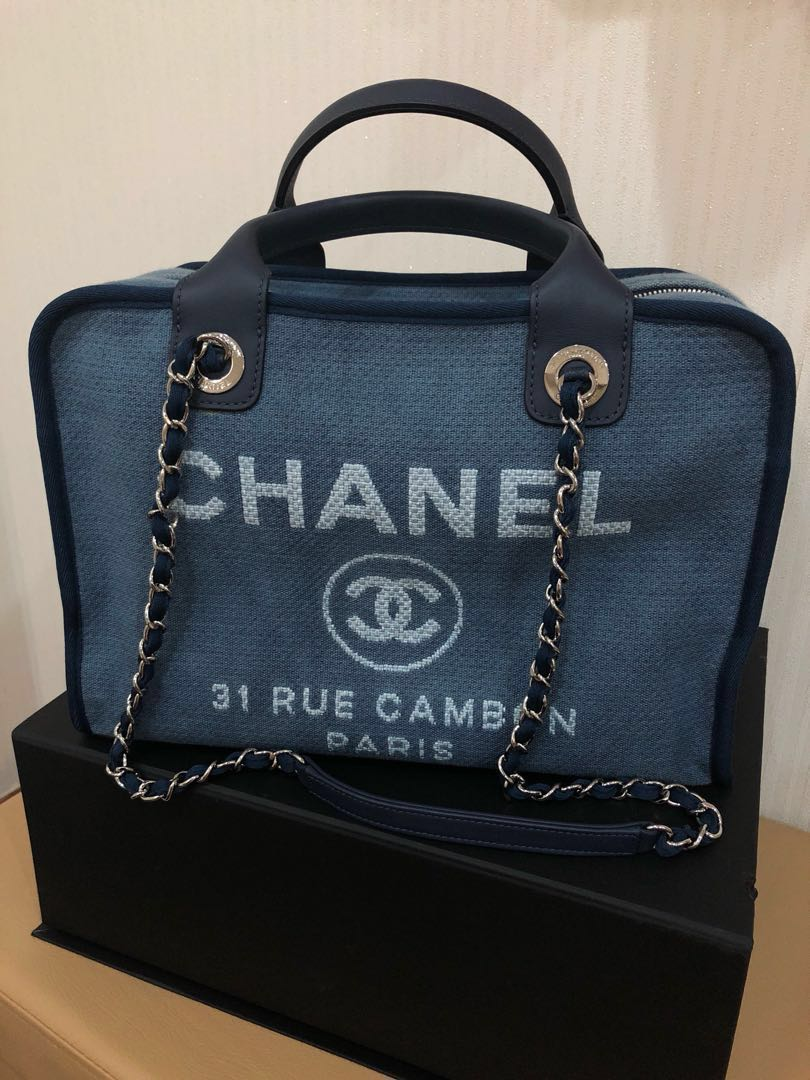 c6d951cf058a3e DEAL! Like new Chanel Deauville Bag, Luxury, Bags & Wallets ...