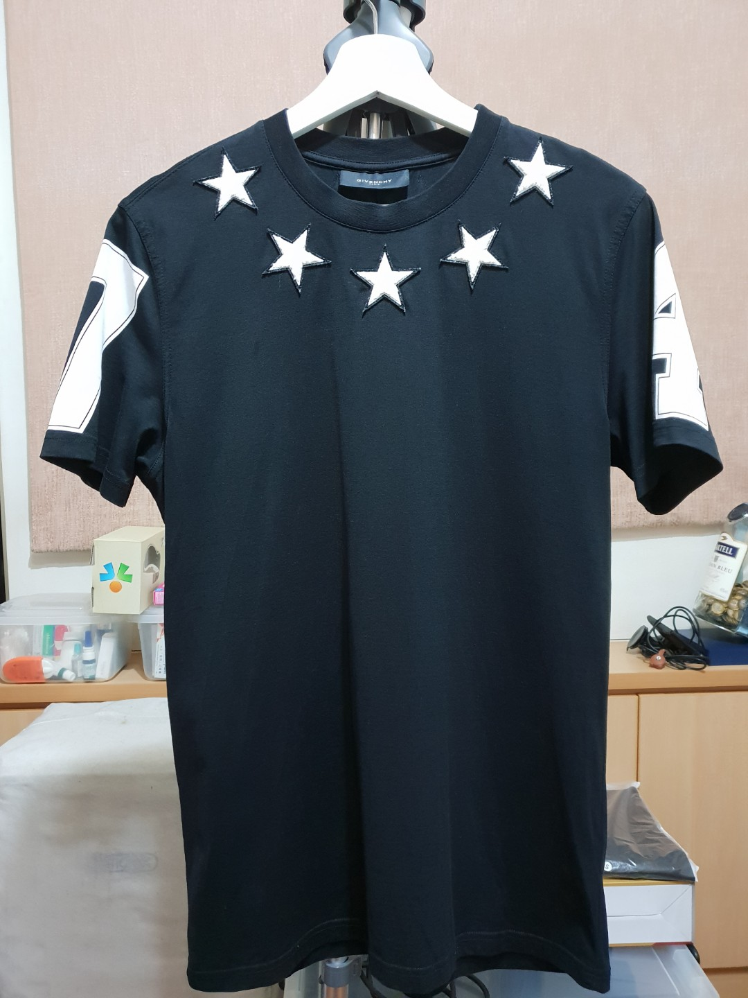 e5428772 Givenchy Stars 74 Tee, Men's Fashion, Clothes, Tops on Carousell