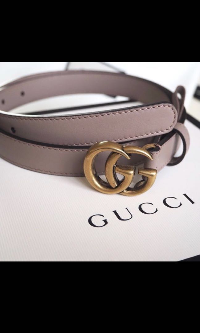 ed1849994ff Gucci Double G Belt Nude
