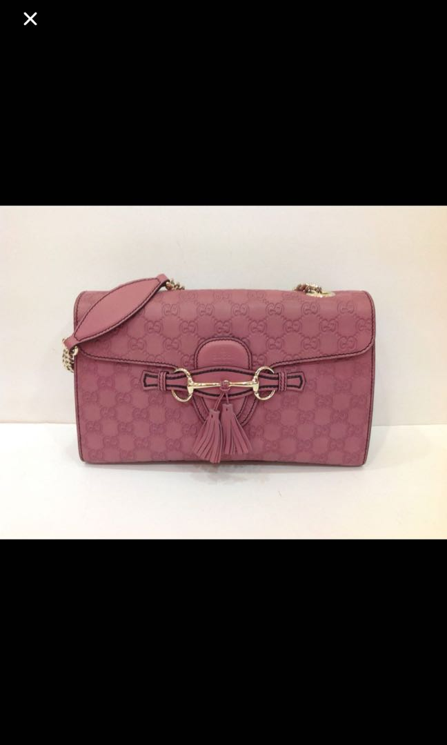 0a5fec8696a4ee GUCCI GUCCISSIMA MEDIUM EMILY CHAIN SHOULDER BAG, Luxury, Bags ...