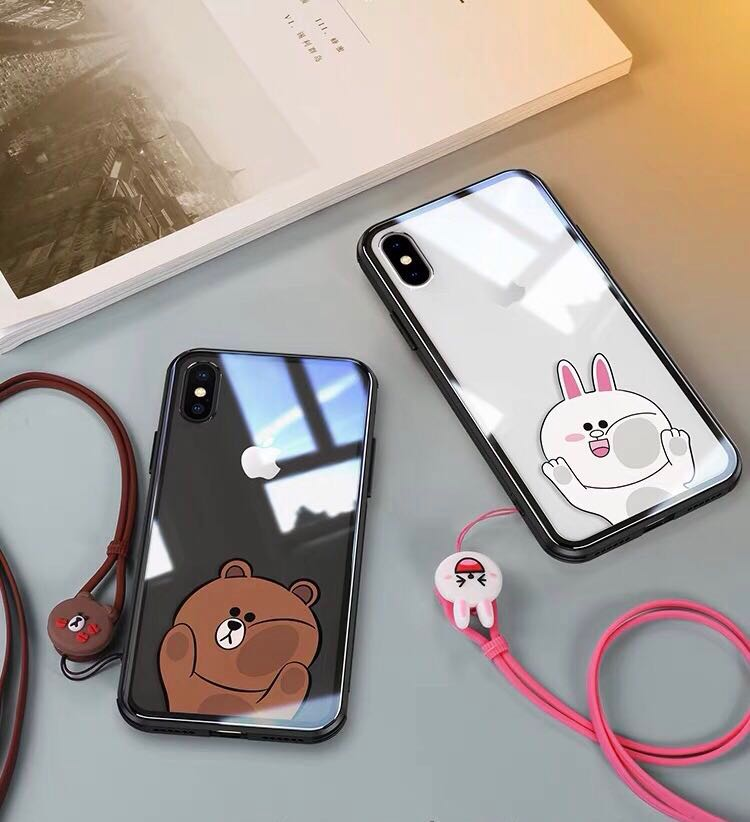 new arrival 44ac4 09a94 iPhone XS Max & iPhone X LINE Friends Casing