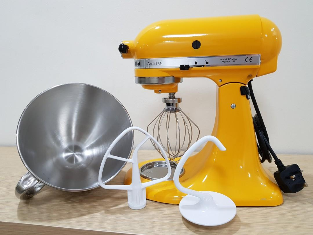 Surprising Kitchen Aid Stand Mixer Yellow Pepper Home Appliances Home Interior And Landscaping Analalmasignezvosmurscom
