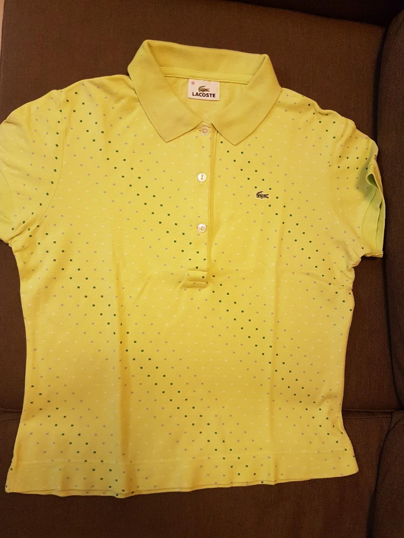 398bedaa3 Lacoste Polo Shirts Light Green yellow green 2pcs