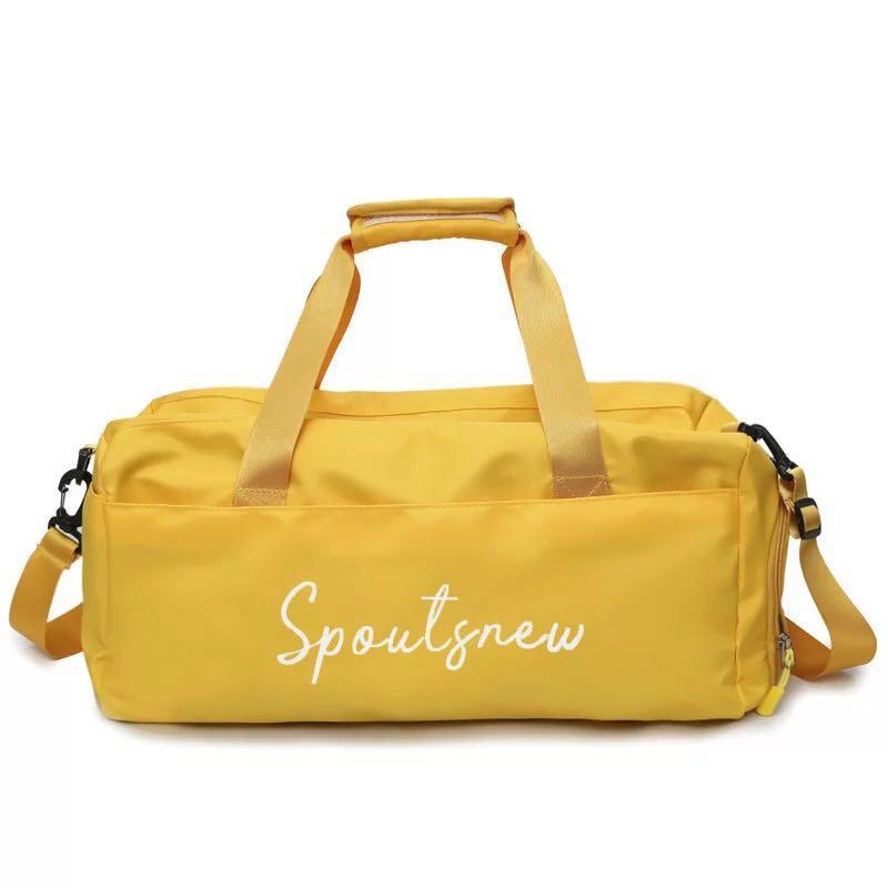 Large triple layer travel bag
