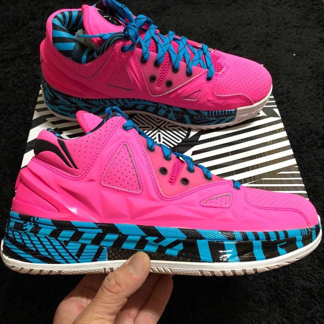 862580e127 LI-NING WOW2 ENCORE FLAMINGO, Men's Fashion, Footwear, Sneakers on ...