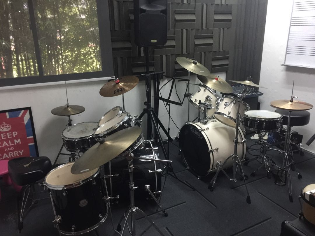 Mapex Voyager Drum Sets Music Media Music Instruments On Carousell