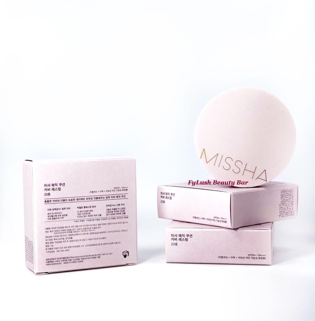 Missha Magic Cushion Cover Lasting Spf50 Pa N23 15g On Carousell