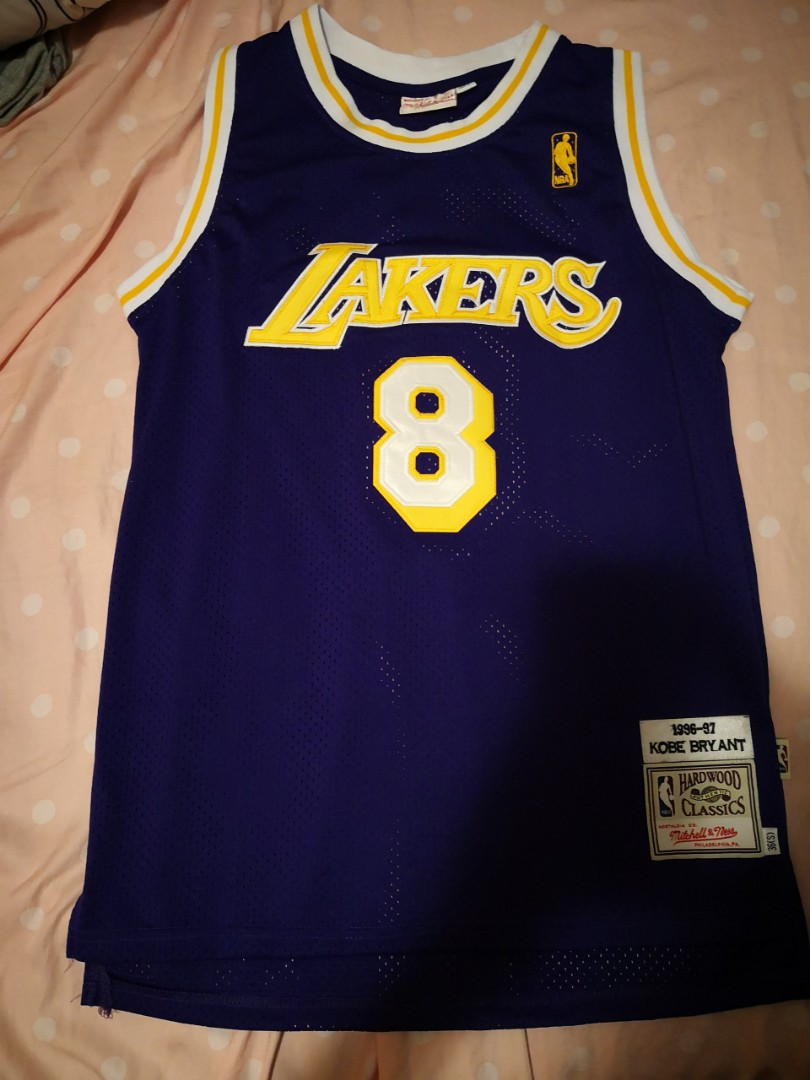 best website 1d15d 27396 Mitchell and ness NBA Authentic Kobe bryant #8 1996-1997 LAL jersey