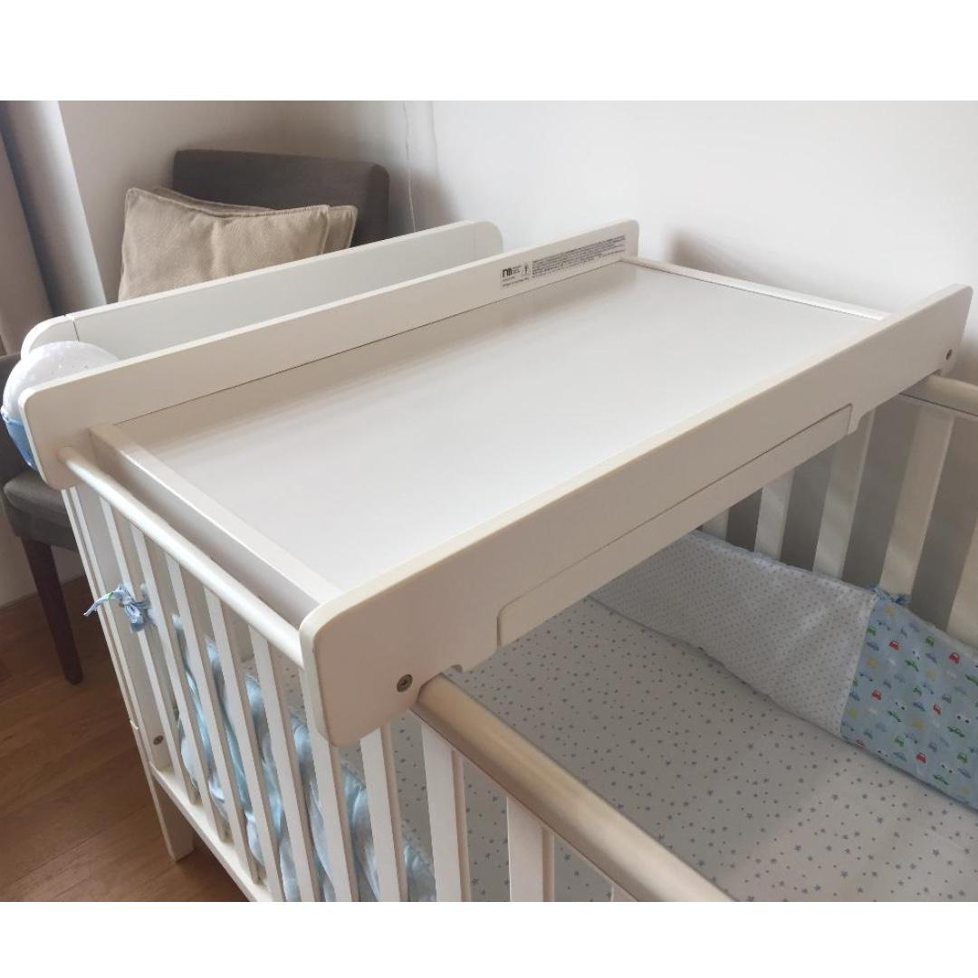 Mothercare Cot Top Changer White