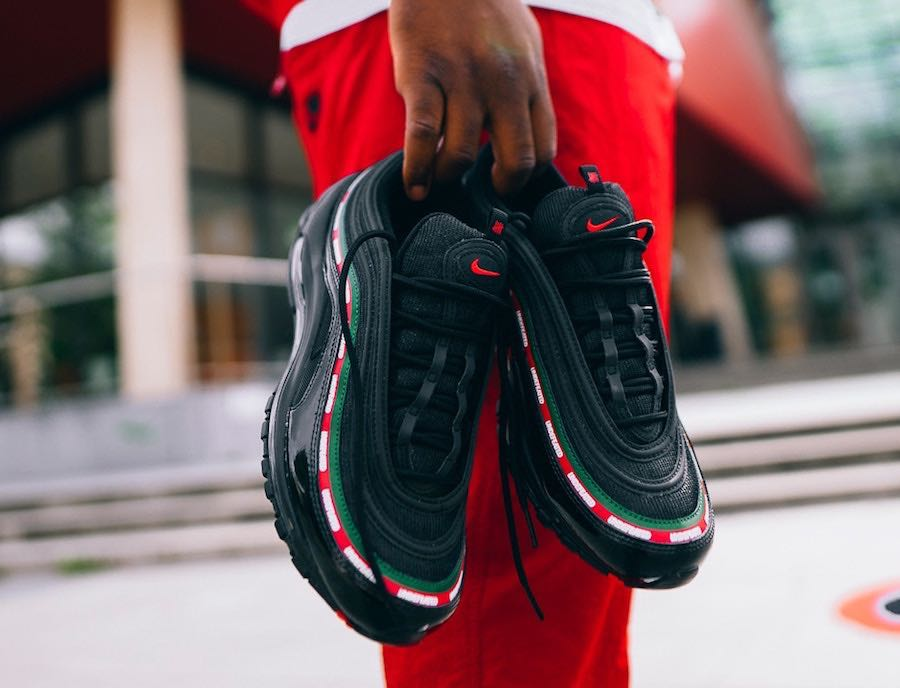 94be63eb3d nike air max 97 undefeated black OG, Men's Fashion, Footwear ...