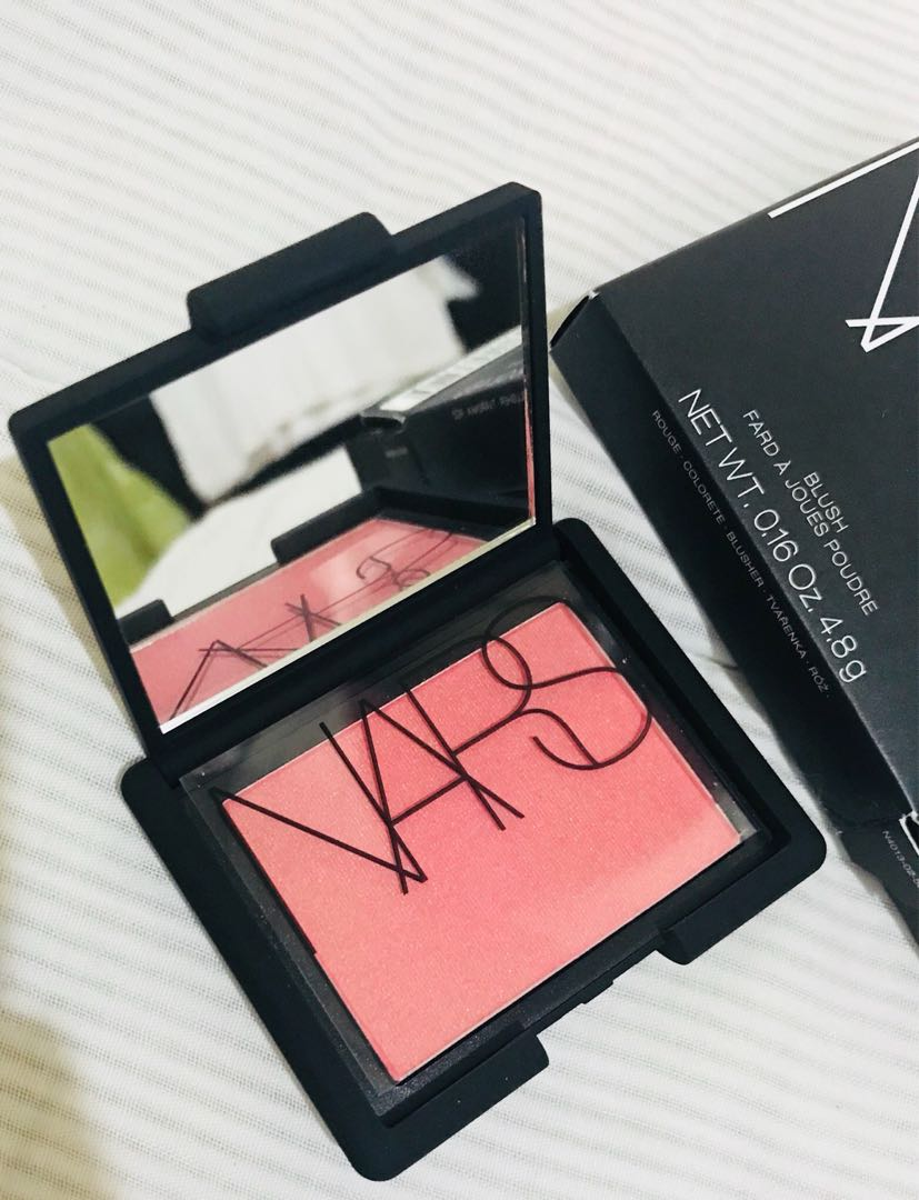 f9f0450d7 Original NARS blush in ORGASM, Health & Beauty, Makeup on Carousell