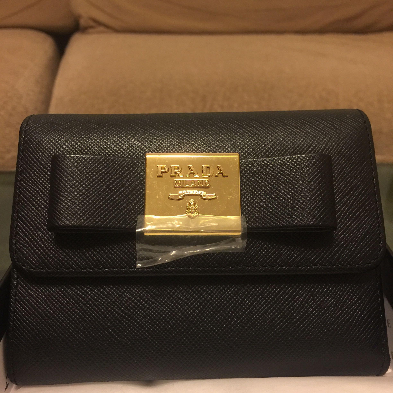 6d6384bab8b3 ... best price prada ribbon wallet sale luxury bags wallets wallets on  carousell 5ad3f 72c1e