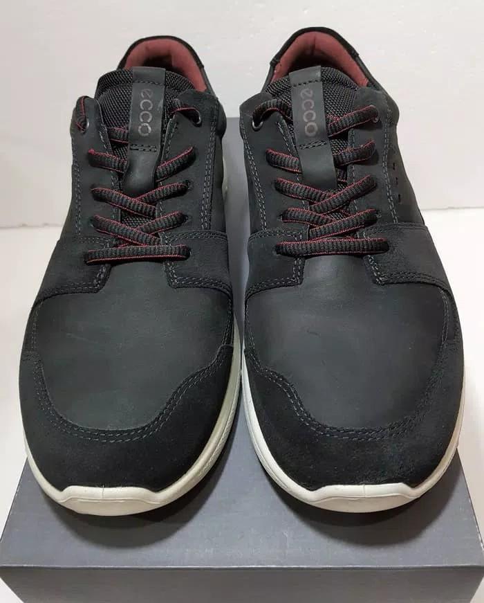 das beste erster Blick heißester Verkauf Sepatu Pria Ecco Irondale Lace Balck Noir 503154, Original ...