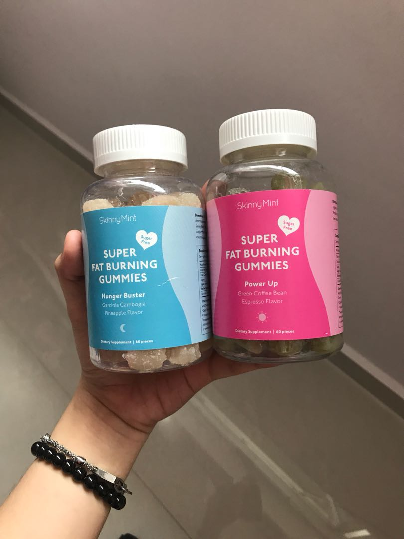 Skinnymint Fat Burning Gummies Hungry Buster And Power Up