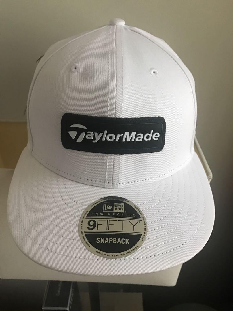 a00f1da5 Taylormade x New Era 9Fifty Adjustable Hat Cap BRAND NEW (1.9k SRP ...