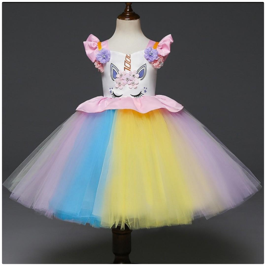 Unicorn Colorful Party Dress [ Pre Order ]