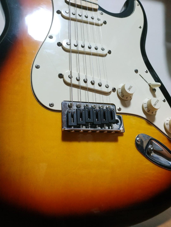 Upgraded Squier Bullet Stratocaster, Music & Media, Music