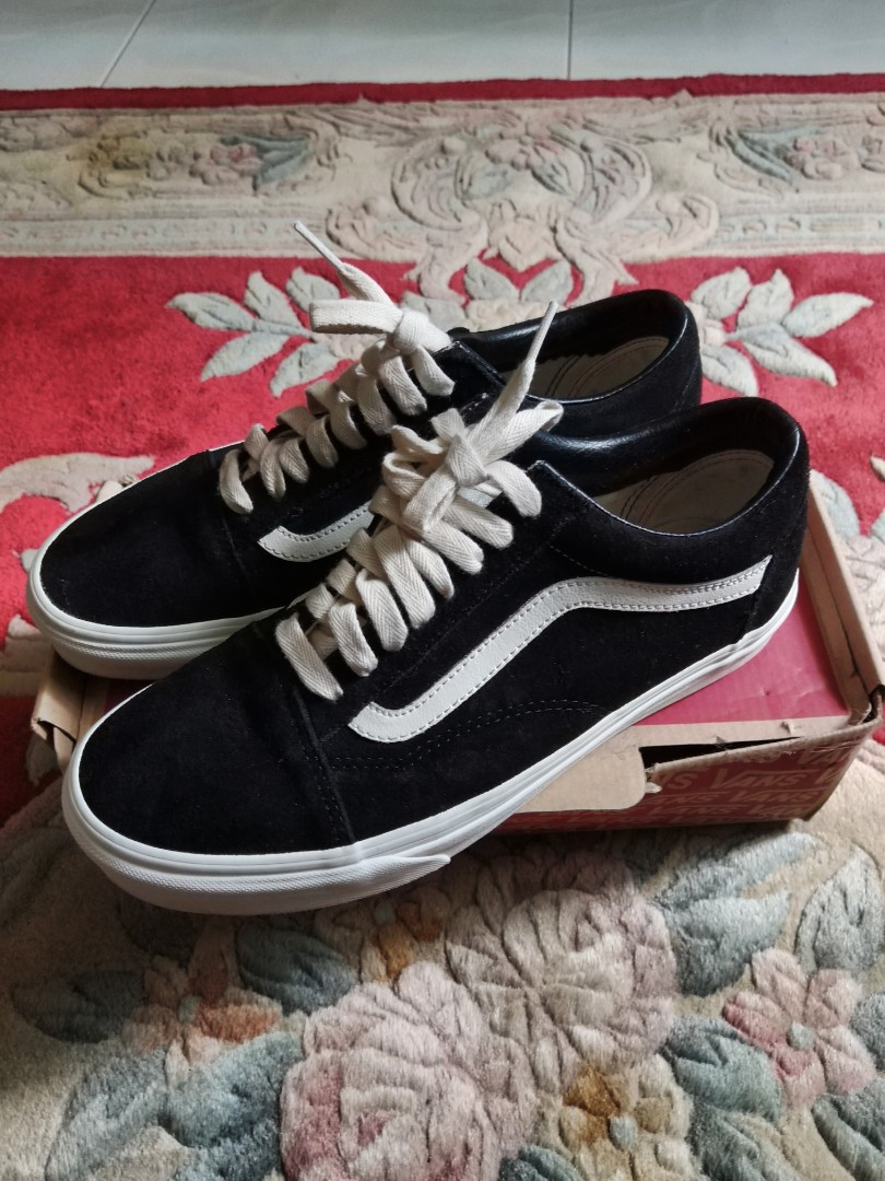 1b13b57f85f Vans Herringbone black marshmellow old skool