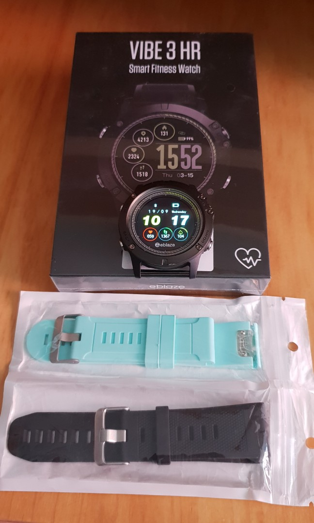 Zeblaze Vibe 3 Hr Waterproof Heart Rate Smart Fitness Tracker Watch
