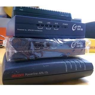 一堆 BB modem - $20 each