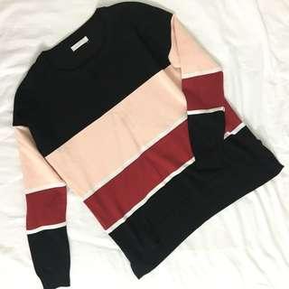 Broad Stripes Knitwear