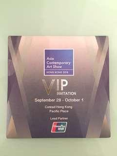 Asia Contemporary Art Show - VIP Tickets