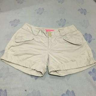 Cream Cargo Shorts
