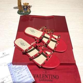 SEPATU VALENTINO FLAT SUPER MIRROR QUALITY