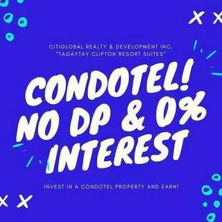 """Tagaytay Clifton Resort Suites """"Passive Income Investments"""""""