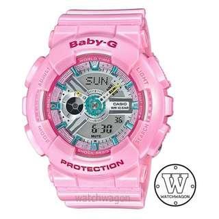 🚚 Casio Baby-G Sweet Pink BA-110CA-4A   ..   ba-110