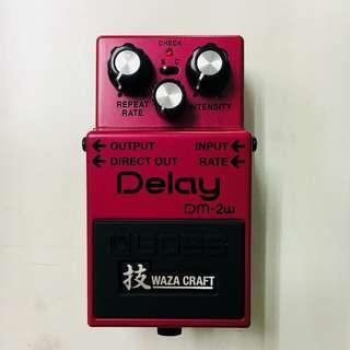 Boss DM-2W Waza Craft Delay Guitar Pedal DM2W #3x100