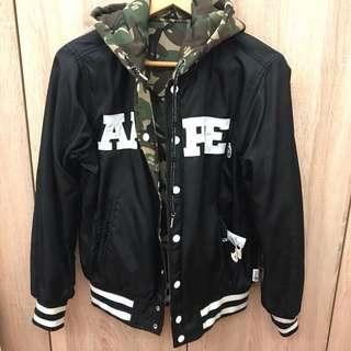 🚚 AAPE雙面穿棒球外套