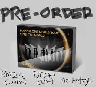 Wanna one world tour dvd