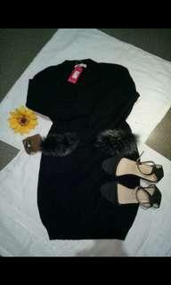 knitted cute dress w/tag