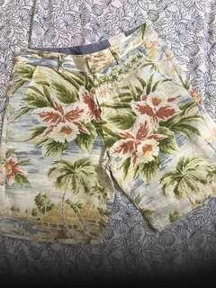 Zara Men Hawaiian Shorts (Size S)