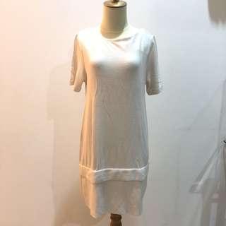 H&M Off-White Dress