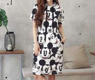 Mickey dress fit S-L