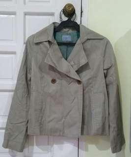 Khaki/Light brown coat/blazer