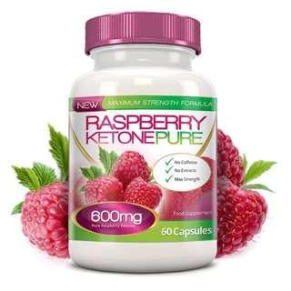🚚 🇬🇧Made in UK🇬🇧Raspberry Ketone Pure™🍒🍒Max Strength 600mg is an exciting new fat-burning capsule containing just 100% pure, EU approved raspberry ketones.