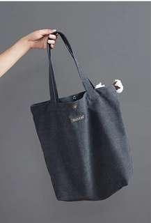 SOLD OUT *** Canvas Tote bag - new stocks, last pcs .Go plastic free, save the earth!