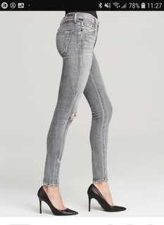 Citizens of Humanity High Rise Distressed Jeans