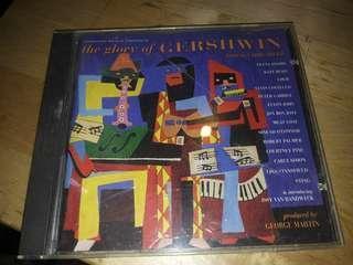 the glory of GERSHWIN. 囗琴音樂cd。美國版
