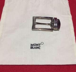 Authentic Montblanc Rectangular Buckle Belt