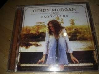 CINDY MORGAN POSTCARDS cd